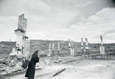Разрушенный Мурманск