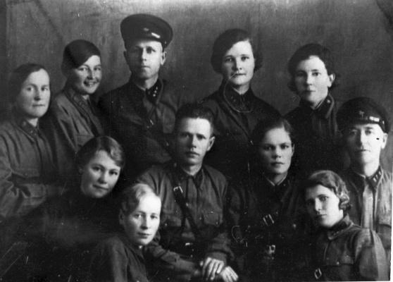 Командный состав ВСП-312