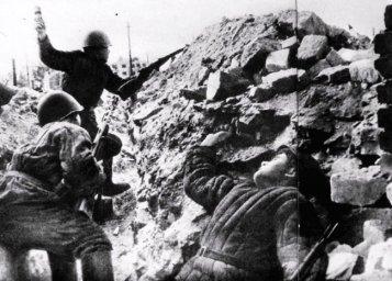 Бой в центре Сталинграда