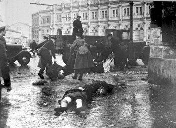 Артобстрелы Ленинграда