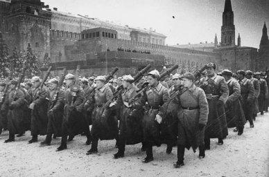 Москва. Мобилизация.
