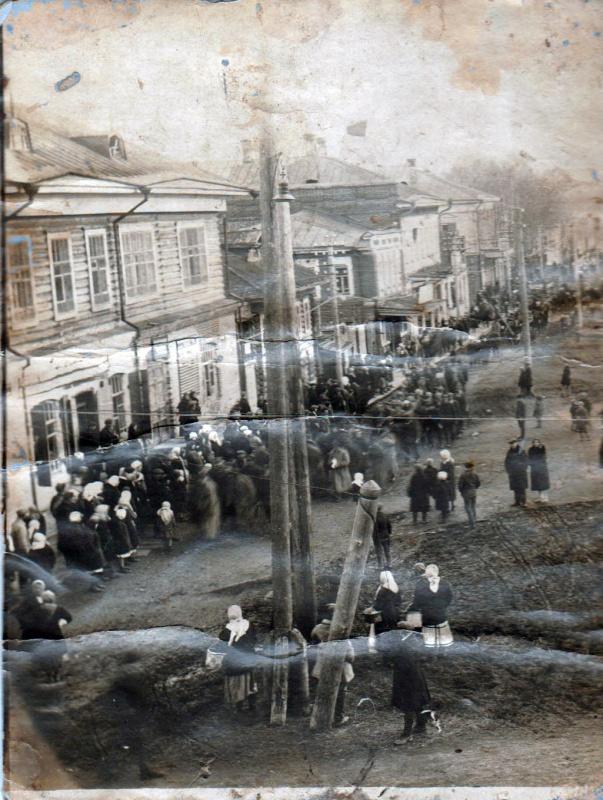 Тотьма. 1914г. фото из архива Е.А. Фокиной